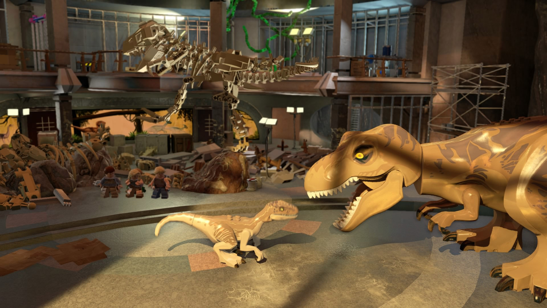 39 lego jurassic world 39 review dino smash tech times for Puerta jurassic world