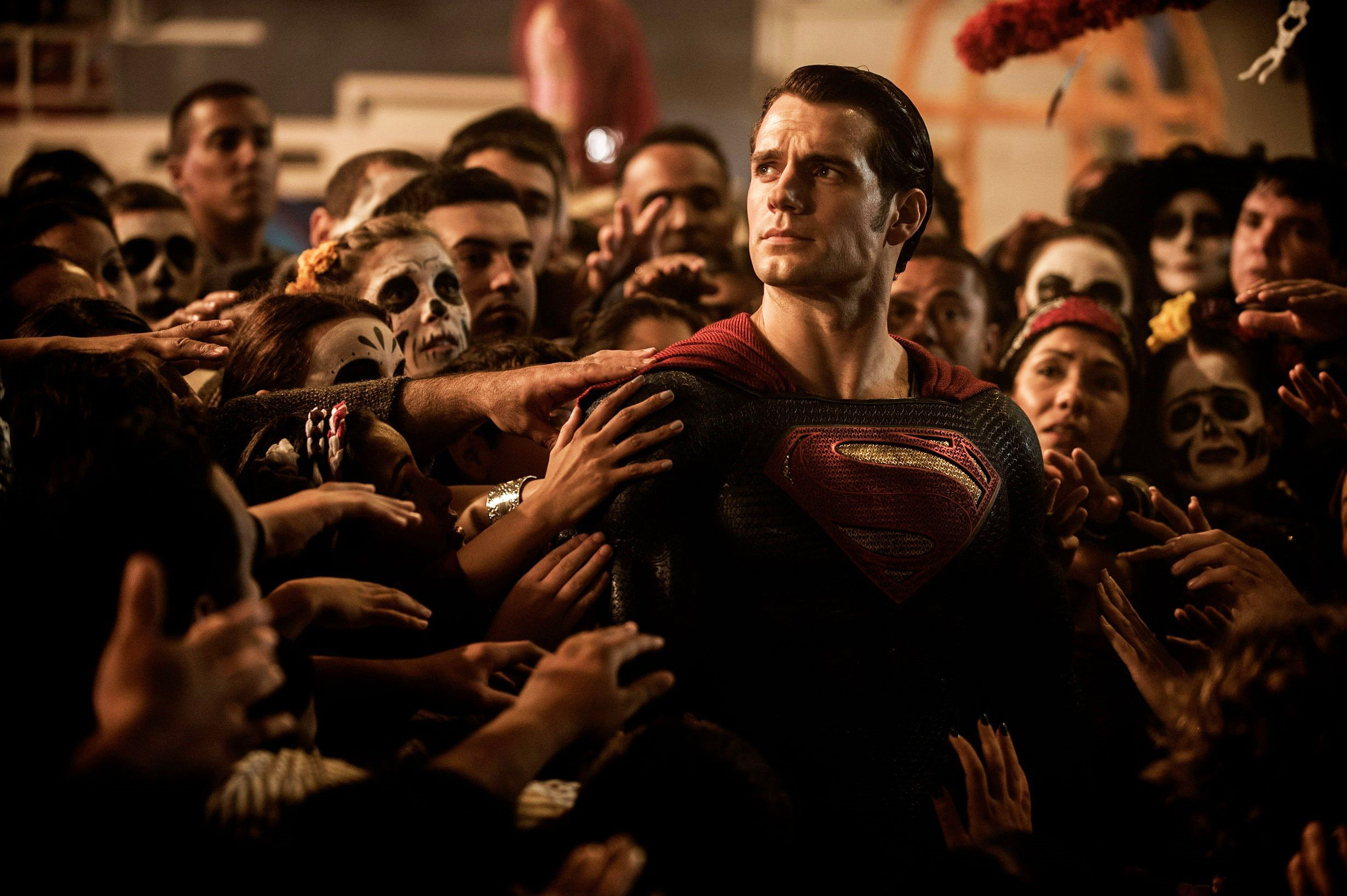Image result for batman v superman day of the dead scene