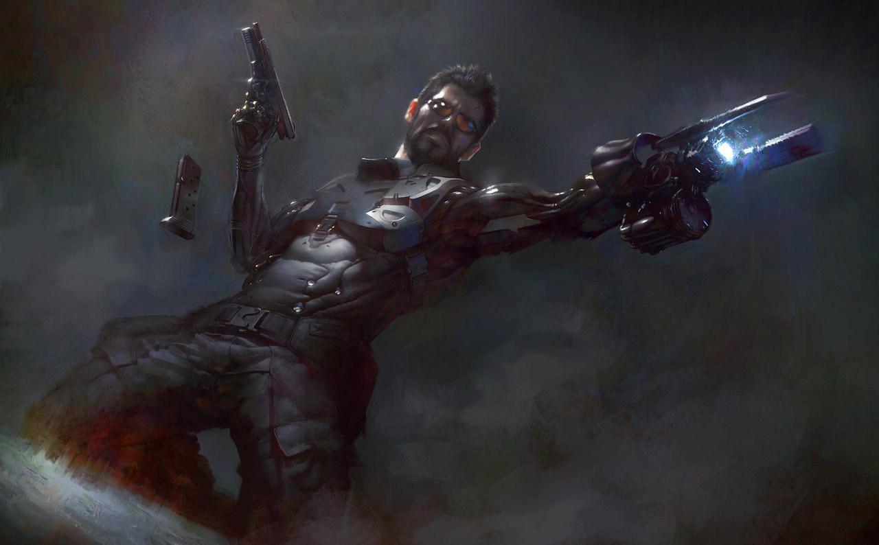 Deus Ex Environment Concept Art