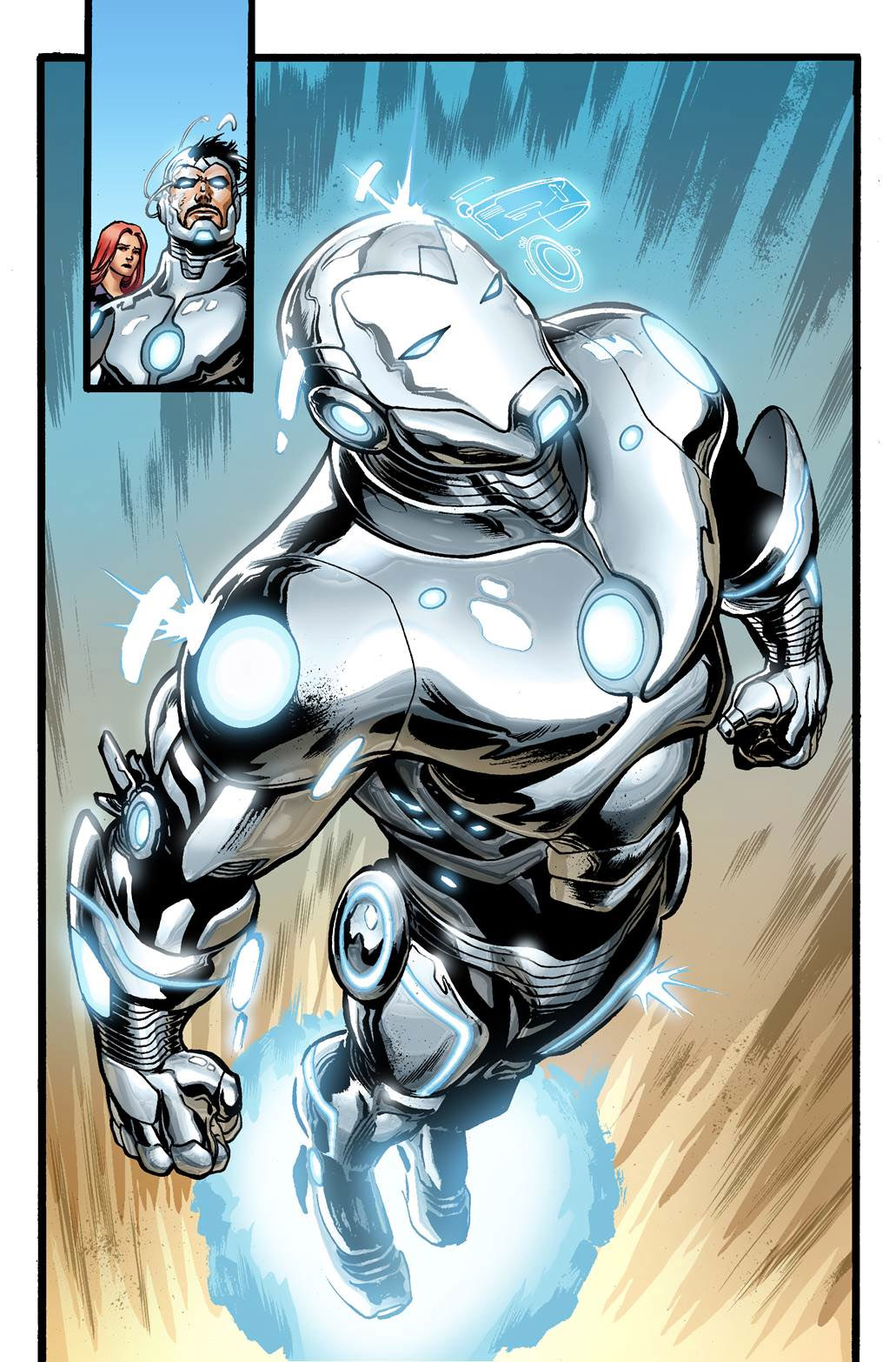 Superior Iron Man 1 Goes on