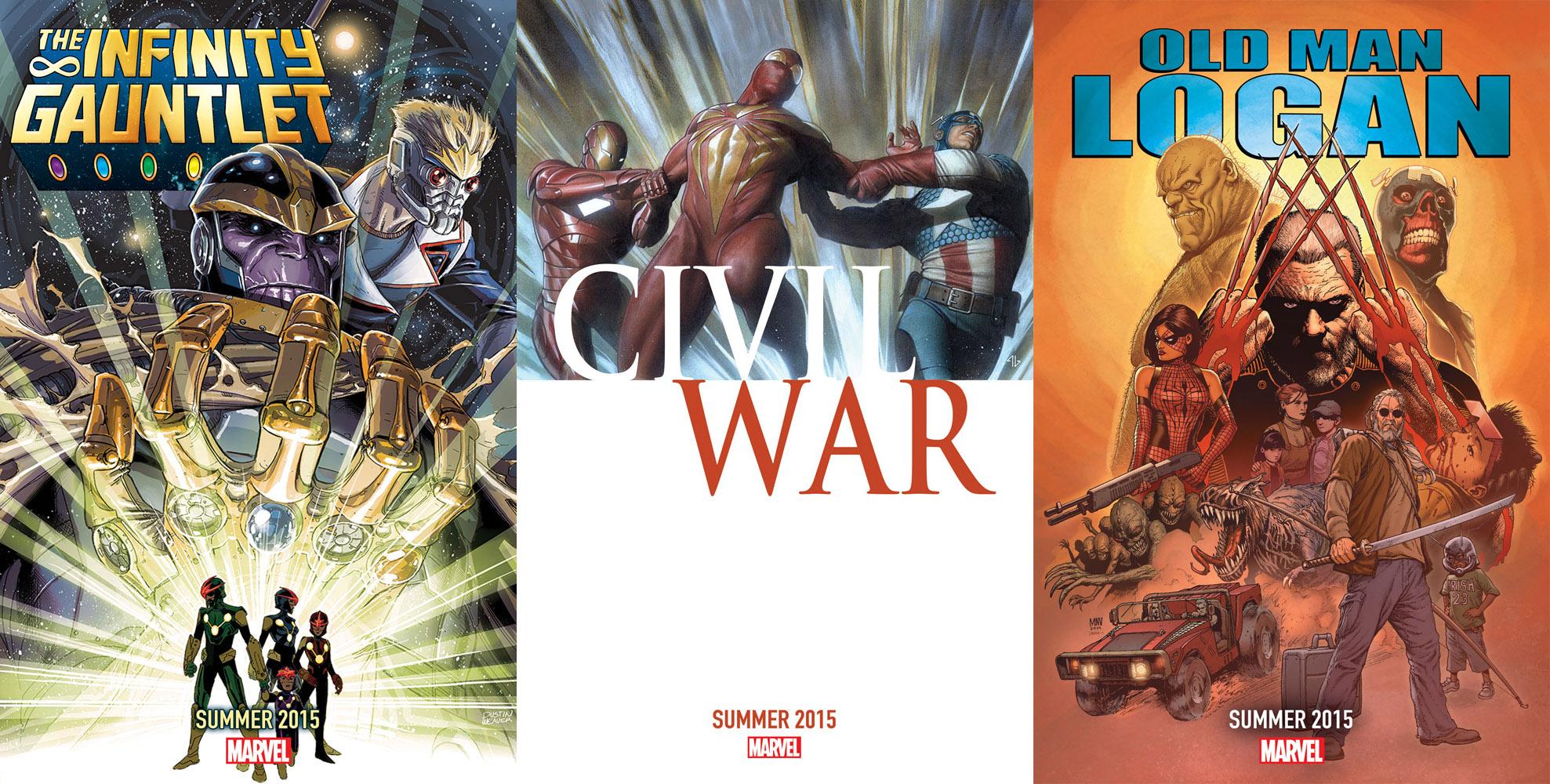 marvel comics 2015 events