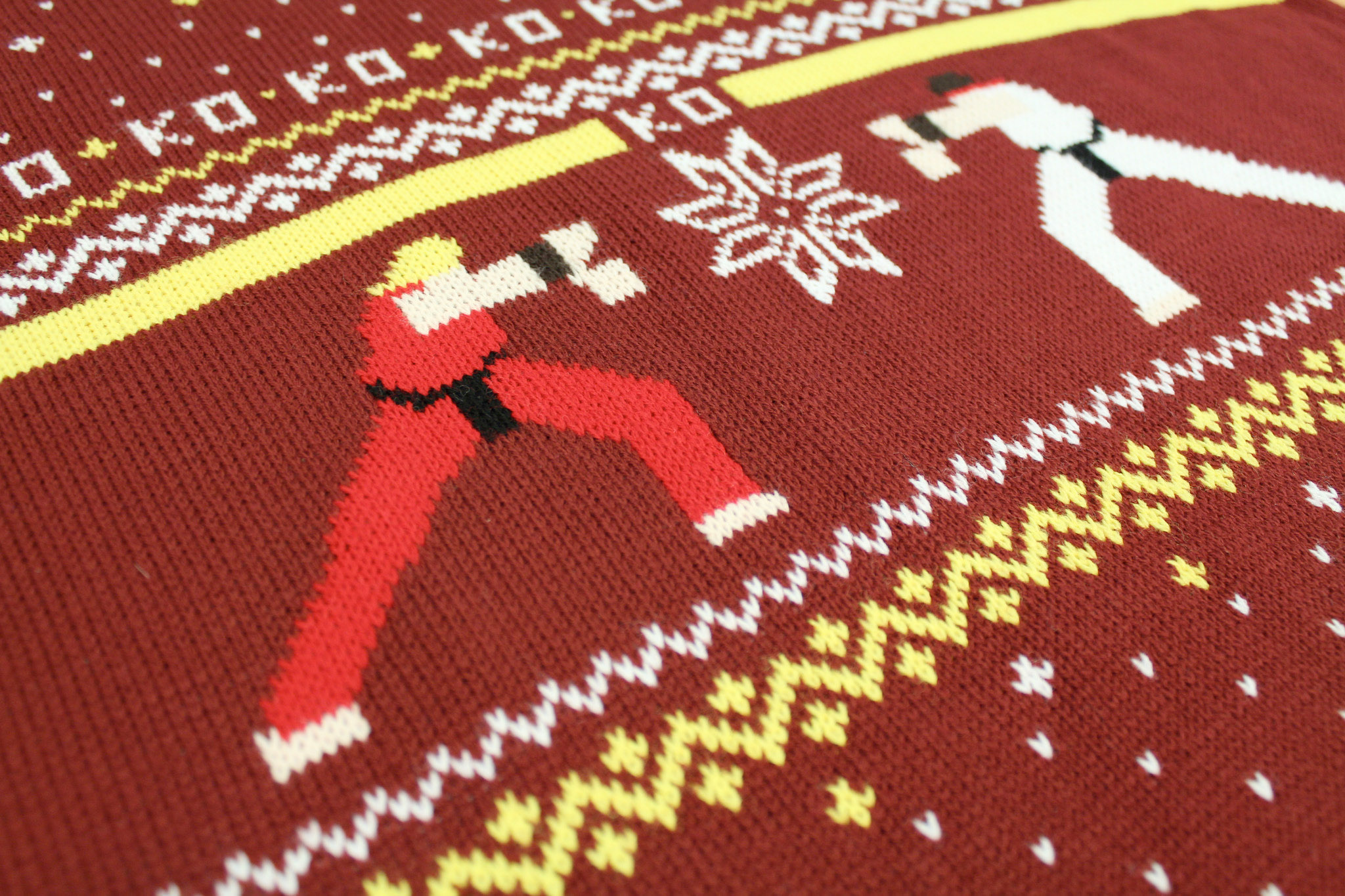 You Too Can Own This \'Street Fighter\' Ugly Christmas Sweater   Tech ...