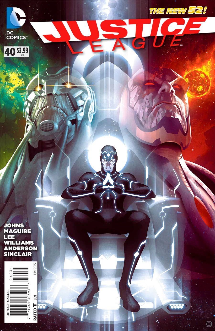... portrayed as a kind of force-of-nature (rather like Marvel's Galactus),  but in