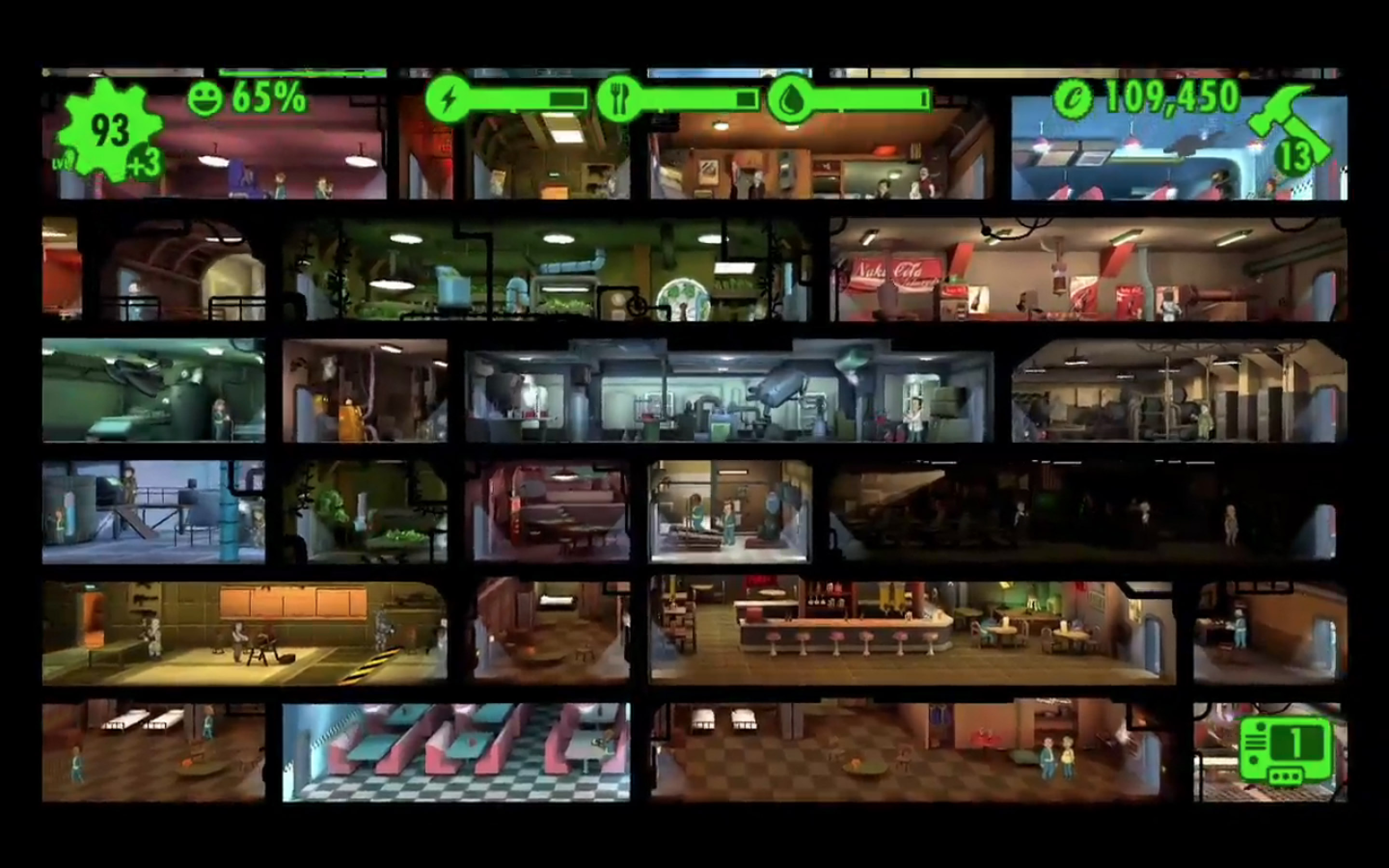 Fallout Shelter Locations at Press Time Fallout Shelter